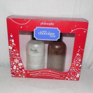 Philosophy Mint Chocolate Treat  2 Bottles 8 fl oz
